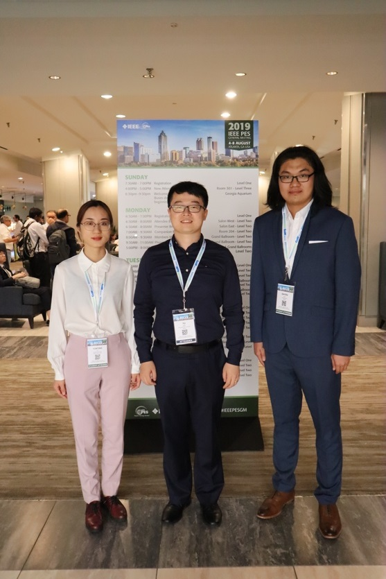 Professor Yu Liu's research group Attended IEEE PESGM 2019
